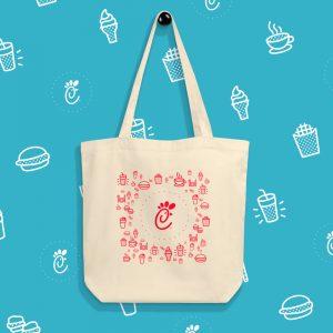 Chick-fil-A tote Bag Concept